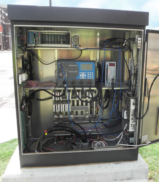 Traffic Cabinet with STC-Manufactured Electronics