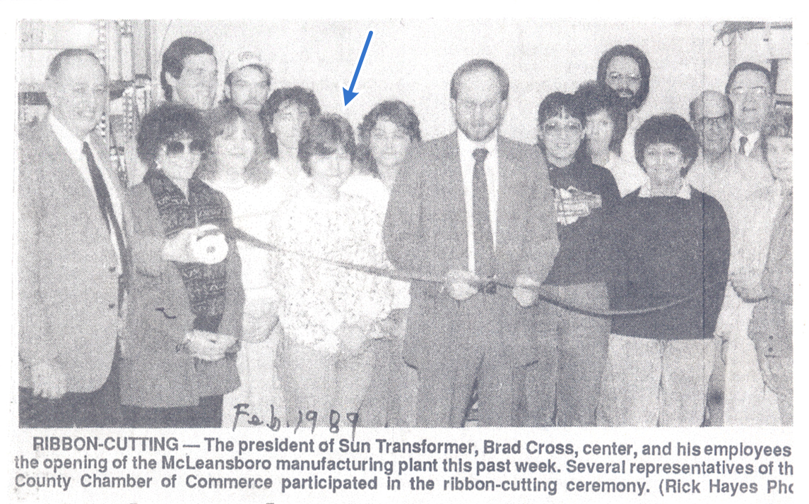 STC Ribbon Cutting in 1989