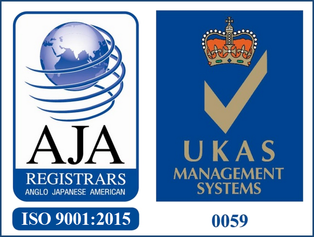 ISO 9001:2015 Registration Mark